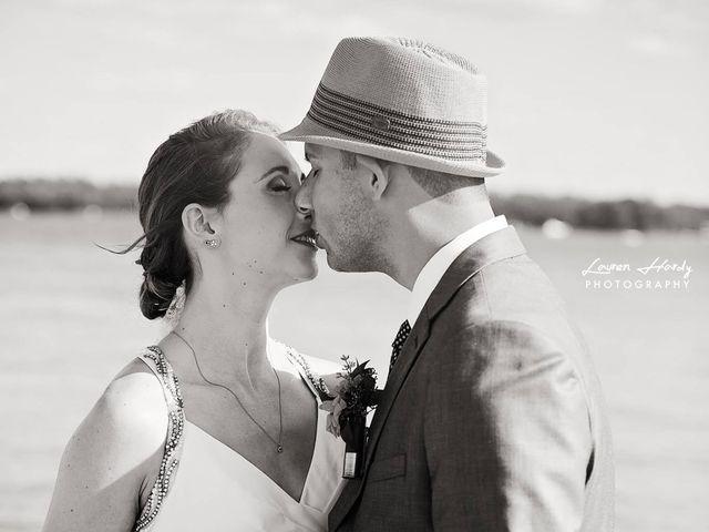 Trevor and Brittany's wedding in Belle Ewart, Ontario 3