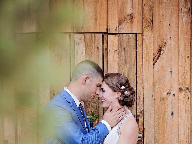 Trevor and Brittany's wedding in Belle Ewart, Ontario 7