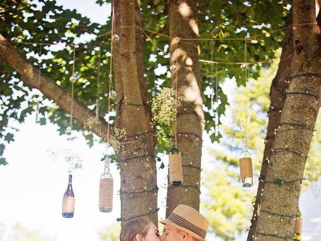 Trevor and Brittany's wedding in Belle Ewart, Ontario 8