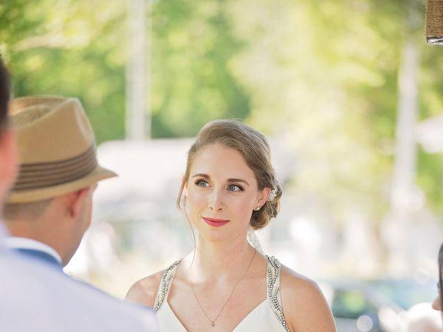 Trevor and Brittany's wedding in Belle Ewart, Ontario 9
