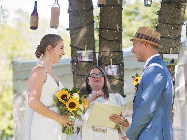 Trevor and Brittany's wedding in Belle Ewart, Ontario 12