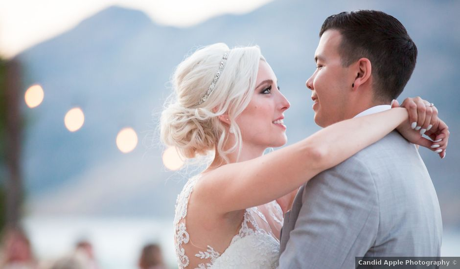 Shelby and Nick's wedding in Summerland, British Columbia