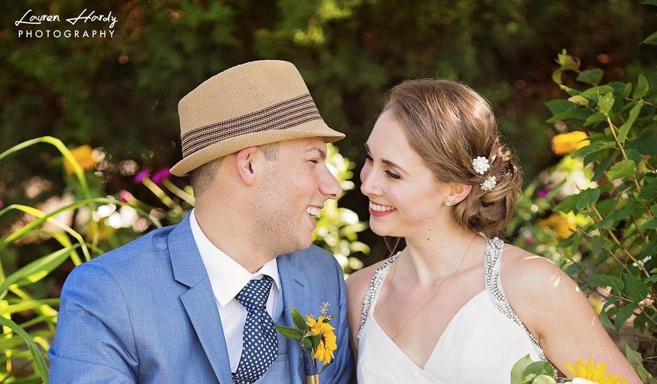 Trevor and Brittany's wedding in Belle Ewart, Ontario