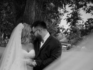 The wedding of Melanie and Adam 1
