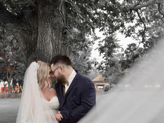 The wedding of Melanie and Adam