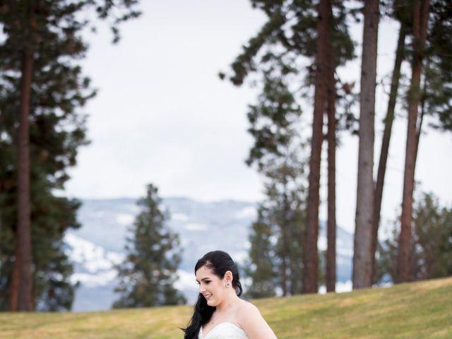 Leanna and David's wedding in Kelowna, British Columbia 4
