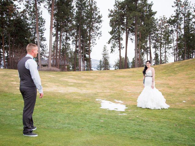 Leanna and David's wedding in Kelowna, British Columbia 7