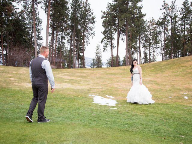 Leanna and David's wedding in Kelowna, British Columbia 8