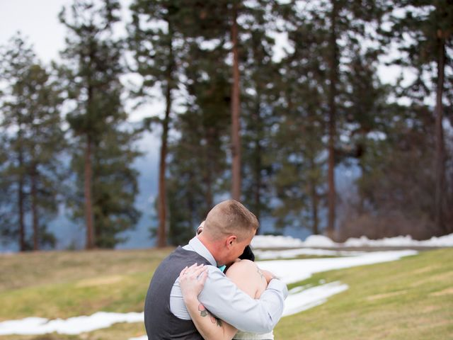 Leanna and David's wedding in Kelowna, British Columbia 9