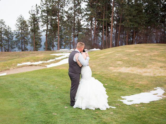 Leanna and David's wedding in Kelowna, British Columbia 10