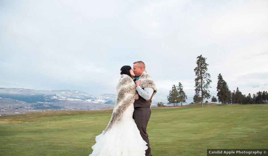 Leanna and David's wedding in Kelowna, British Columbia