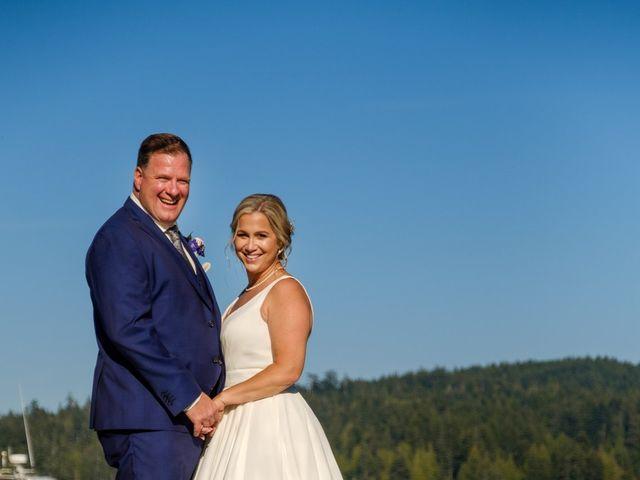 Robert and Caroline's wedding in Sooke, British Columbia 6