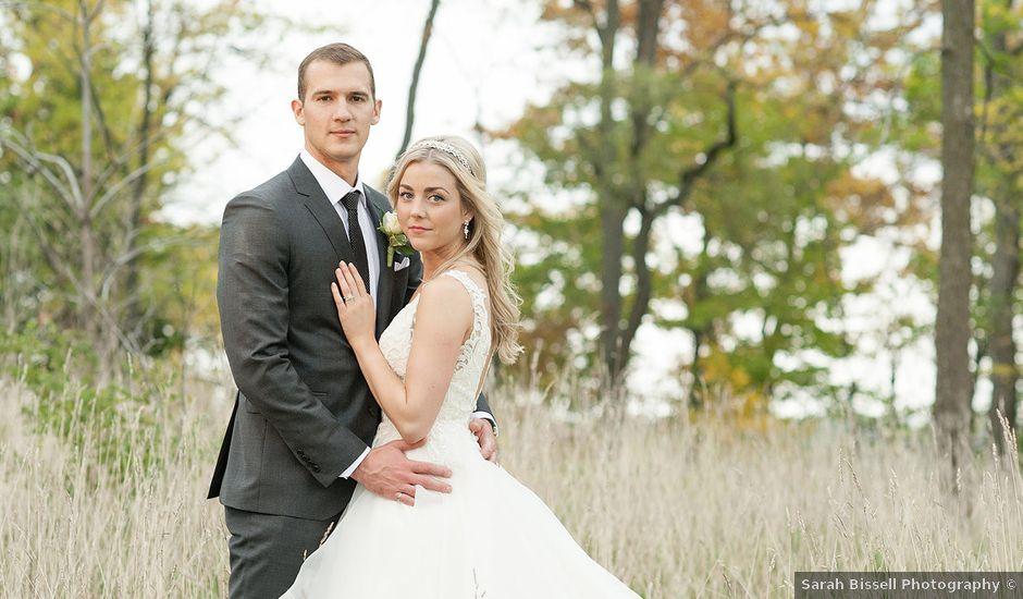 Paul and Alison's wedding in Niagara on the Lake, Ontario