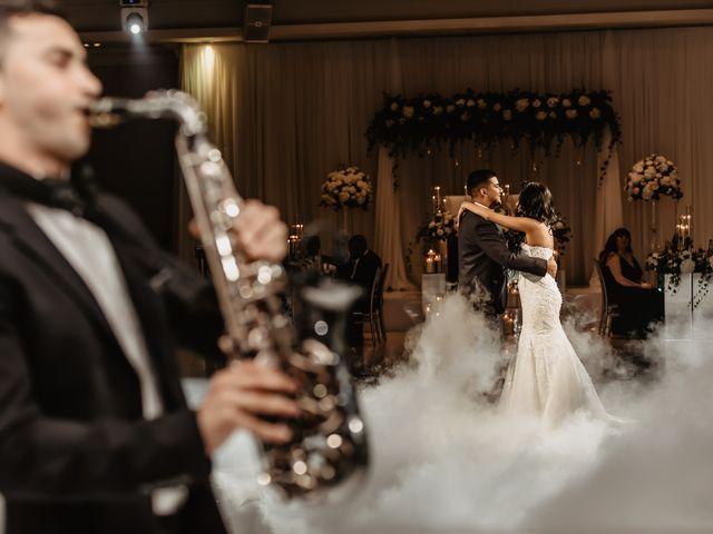 Rasheed and Cadeshia's wedding in Mississauga, Ontario 1