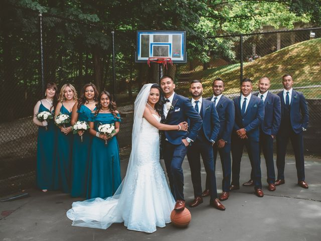 Rasheed and Cadeshia's wedding in Mississauga, Ontario 4