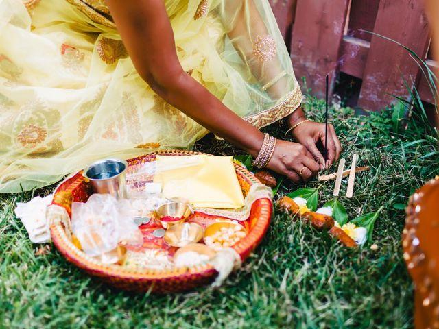 Rasheed and Cadeshia's wedding in Mississauga, Ontario 10
