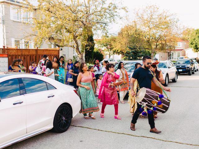 Rasheed and Cadeshia's wedding in Mississauga, Ontario 16