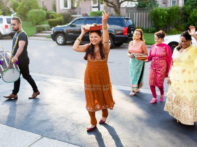 Rasheed and Cadeshia's wedding in Mississauga, Ontario 17