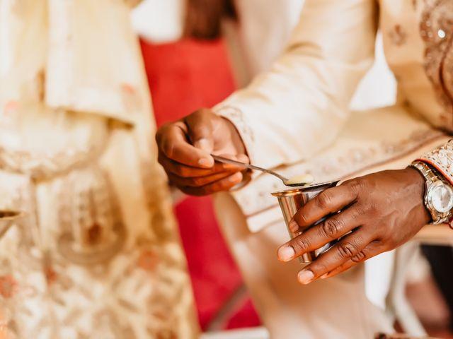 Rasheed and Cadeshia's wedding in Mississauga, Ontario 28