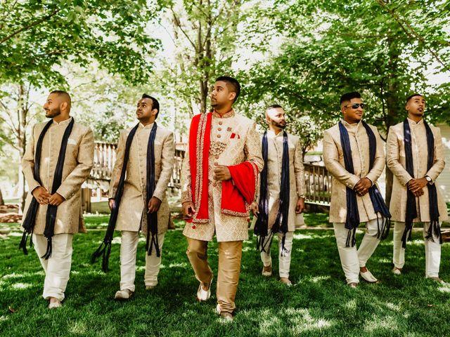 Rasheed and Cadeshia's wedding in Mississauga, Ontario 40