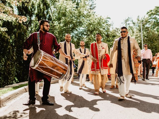 Rasheed and Cadeshia's wedding in Mississauga, Ontario 43