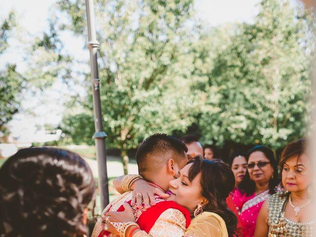 Rasheed and Cadeshia's wedding in Mississauga, Ontario 46