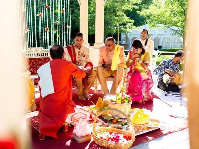 Rasheed and Cadeshia's wedding in Mississauga, Ontario 49