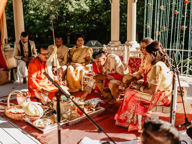Rasheed and Cadeshia's wedding in Mississauga, Ontario 52