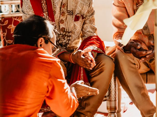 Rasheed and Cadeshia's wedding in Mississauga, Ontario 55