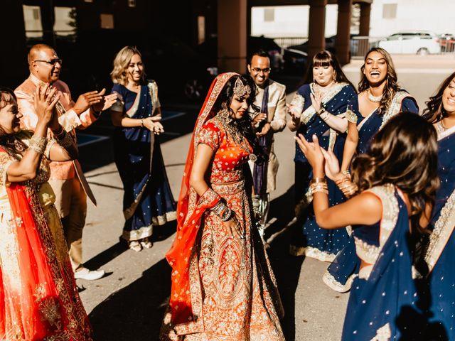 Rasheed and Cadeshia's wedding in Mississauga, Ontario 57