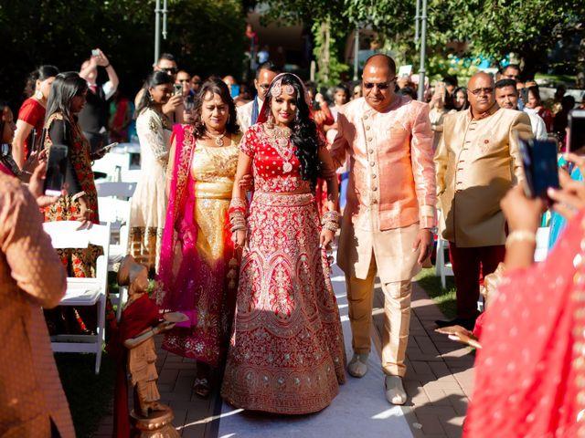 Rasheed and Cadeshia's wedding in Mississauga, Ontario 59