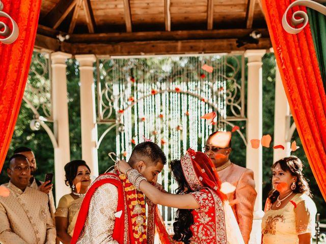 Rasheed and Cadeshia's wedding in Mississauga, Ontario 63