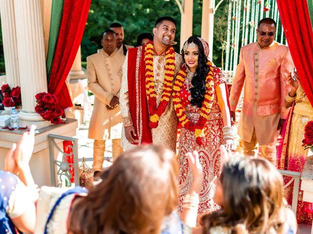 Rasheed and Cadeshia's wedding in Mississauga, Ontario 64