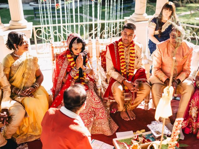 Rasheed and Cadeshia's wedding in Mississauga, Ontario 68