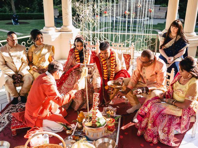 Rasheed and Cadeshia's wedding in Mississauga, Ontario 71