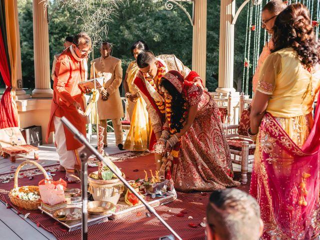 Rasheed and Cadeshia's wedding in Mississauga, Ontario 76