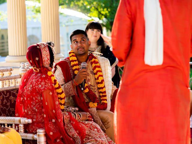 Rasheed and Cadeshia's wedding in Mississauga, Ontario 82