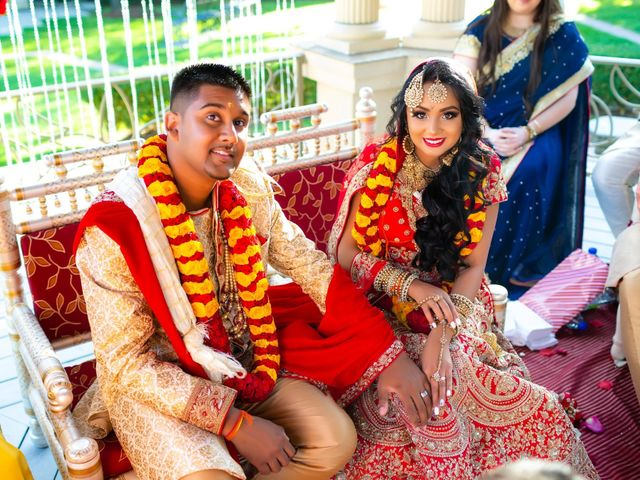 Rasheed and Cadeshia's wedding in Mississauga, Ontario 87