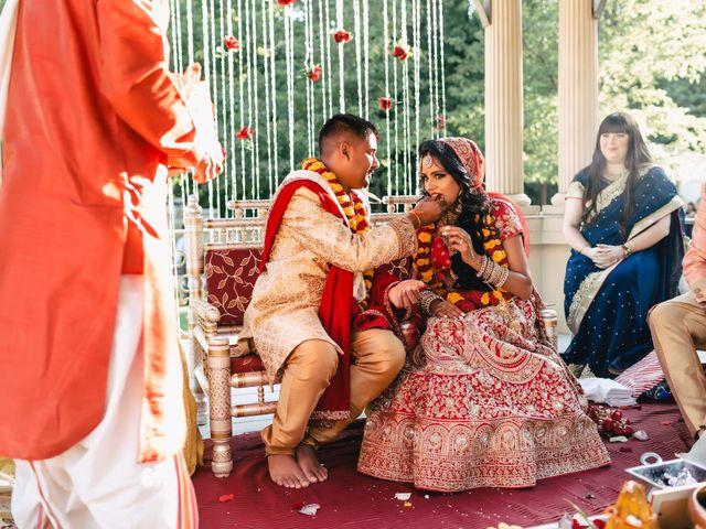 Rasheed and Cadeshia's wedding in Mississauga, Ontario 88