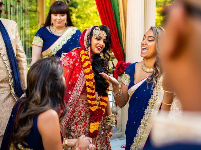 Rasheed and Cadeshia's wedding in Mississauga, Ontario 91