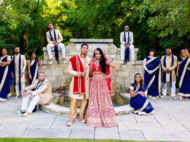 Rasheed and Cadeshia's wedding in Mississauga, Ontario 96