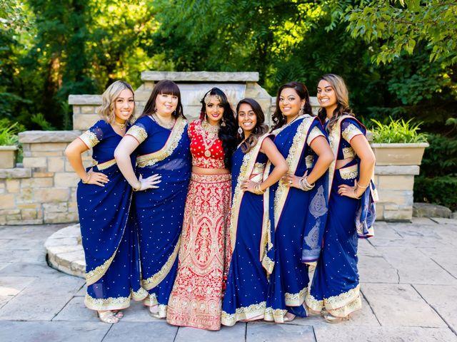 Rasheed and Cadeshia's wedding in Mississauga, Ontario 97