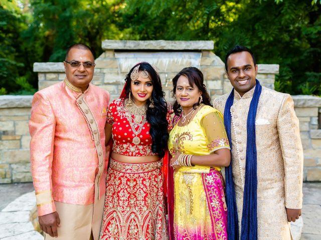 Rasheed and Cadeshia's wedding in Mississauga, Ontario 100