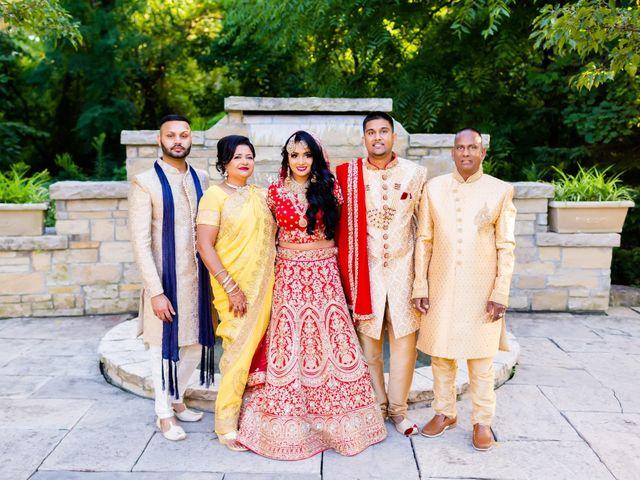Rasheed and Cadeshia's wedding in Mississauga, Ontario 101