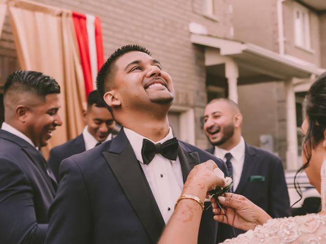 Rasheed and Cadeshia's wedding in Mississauga, Ontario 108