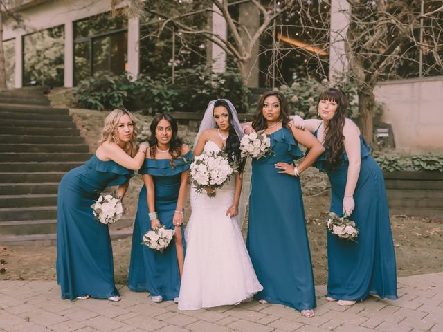 Rasheed and Cadeshia's wedding in Mississauga, Ontario 116
