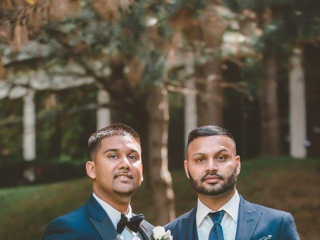 Rasheed and Cadeshia's wedding in Mississauga, Ontario 117