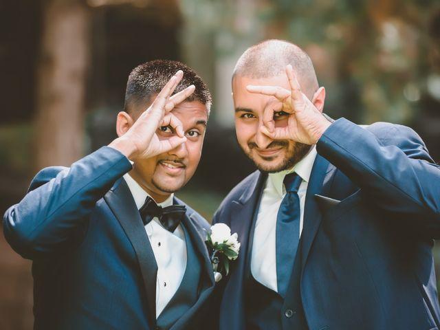 Rasheed and Cadeshia's wedding in Mississauga, Ontario 118