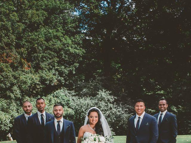 Rasheed and Cadeshia's wedding in Mississauga, Ontario 120