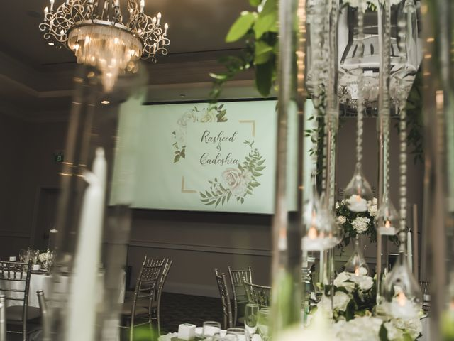 Rasheed and Cadeshia's wedding in Mississauga, Ontario 125
